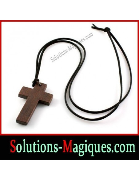 Collier + Pendentif Croix Crucifix